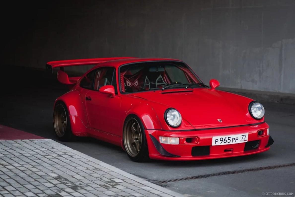 Porsche RWB Russia